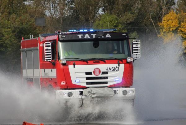 Speciální jízda požární TATROU TERRA